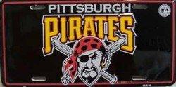 Pittsburgh Pirates MLB Baseball License Plate