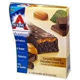 Atkins Advantage Bar Caramel Double Chocolate Crunch -- 5 Ba