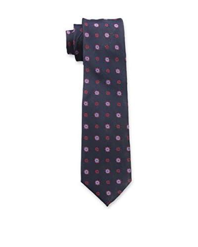 Ben Sherman Men's Buckland Medallion Tie, Red