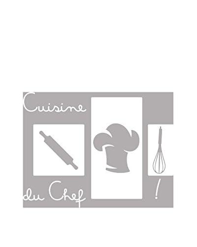 Ambiance-sticker Vinile Decorativo Kitchen La Cuisine Du Chef !