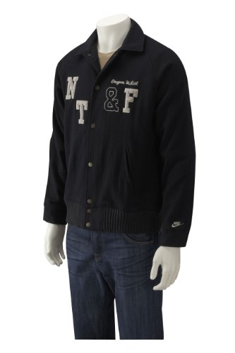Nike Mens Varsity Jacket Black - Small