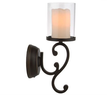 Candle Impressions Flameless Wall Sconces W Timer
