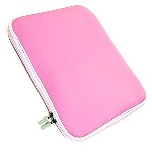 """Cosmos 13.3"""" 13 inch Pink High Density Memory Foam Laptop notebook computer case/bag/sleeve for macbook PRO Dell Sony HP Toshiba acer asus Compaq IBM lenovo + Cosmos cable tie from COSMOS"""