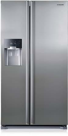 Samsung RS7568THCSP/EF Side by Side / A++ / 350 kWh/Jahr /  361 L Kühlteil /  184 L Gefrierteil / Edelstahl Look / Wasser/Eis, Langer Griff