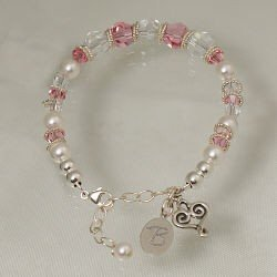 Personalized Mother in Law Wedding Bracelet