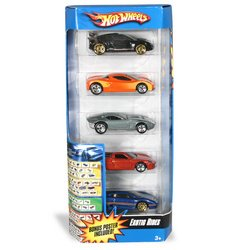 Amazon.com: 5-Car Gift Pack:Hot Wheels: Exotic Rides: Toys & Games
