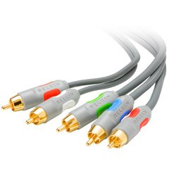 Belkin Component Video and RCA Audio Cable Siamese 6 ft.