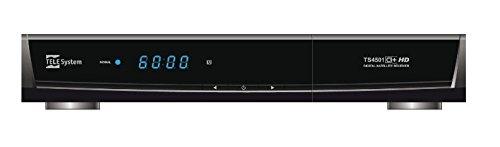 TELE System TS4501CI+HD Ricevitore digitale satellitare Common Interface CI+ (DVB-S/DVB-S2)