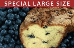 Large My Grandma's Blueberry Coffee Cake