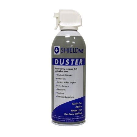 Shieldme&Trade Duster - 10 Oz. Can With Extension Tube With White Earbud Headphones