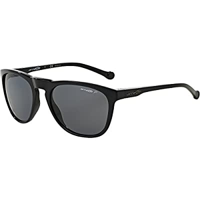 Arnette Moniker Unisex Polarized Sunglasses - 41/81 Gloss Black/Grey