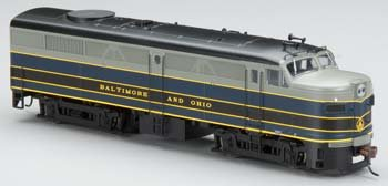 Bachmann Industries Alco Fa2 Dcc Ready Diesel Ho Scale Baltimore And Ohio Locomotive front-563634