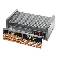Star Mfg Grill-Max Electronic Roller Grill W/ 30-Bun Drawer