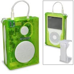 Green Remix Case for iPod