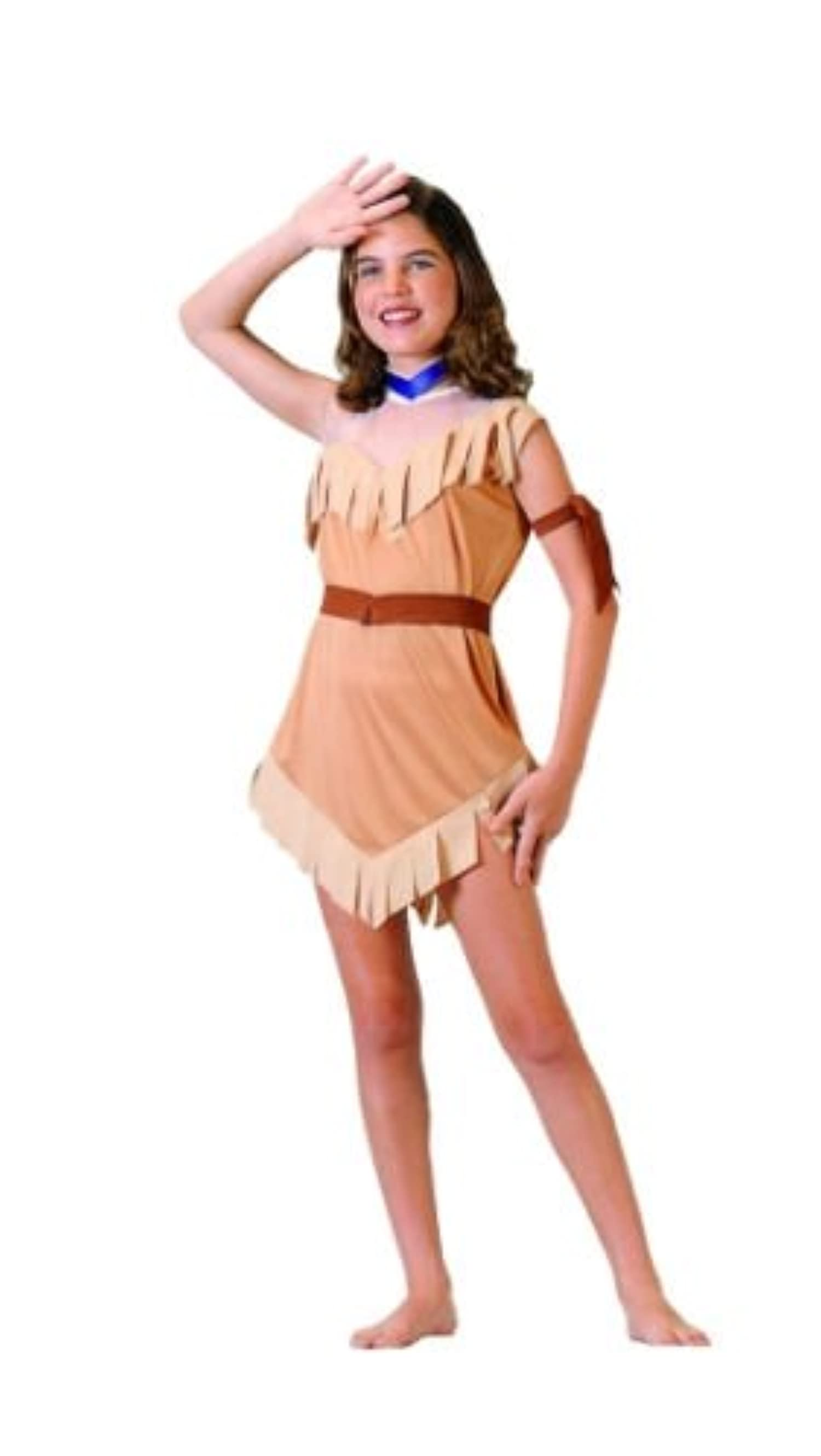 native american pocahontas girl costume indian princess. Black Bedroom Furniture Sets. Home Design Ideas