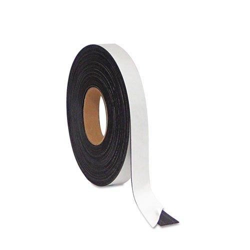 "Mastervision - Magnetic Adhesive Tape Roll, Black, 1"" X 50 Ft. Fm2021 (Dmi Ea"