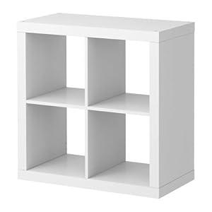 Ikea expedit tag re 4 cases blanc 79 x 79 x 39 cm cuisine - Etagere expedit blanc ...