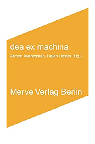buchcover: dea ex machina