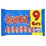 Cadbury Time Out 9 Pack 144G