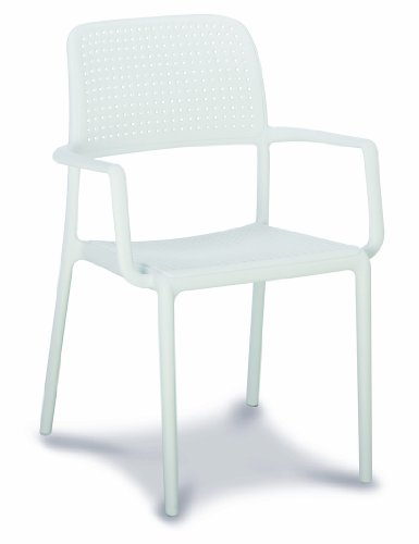 Best Locarno 18100100 Stacking Chair White