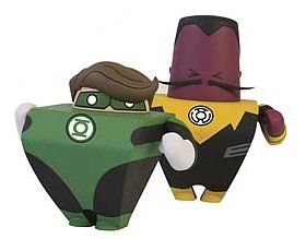 Picture of Blammoids DC Blammoids Series 1 Mini-Figures Green Lantern and Sinestro (B0035AJY22) (Green Lantern Action Figures)