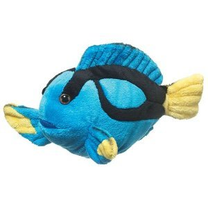 Blue Tang Fish Plush Toy - 1