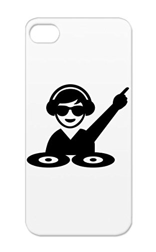 Shockproof Turntables Miscellaneous Dj Music Party Vinyl Disco Equalizer Deejay Club Headphones For Iphone 5/5S Tpu Black Protective Hard Case