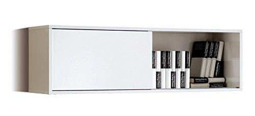 estanteria-modulo-alto-aereo-de-salon-comedor-color-blanco-brillo-con-puerta-corredera-herrajes-para