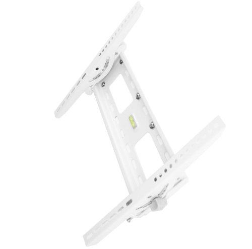 VESA LCD Wandhalterung Wandhalter TV Halterung Halter weiß neigbar für Philips 37PFL7605H/12