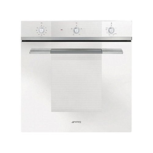 Smeg Linea SF102GVB Built In Oven Gas Single Fan Electric Grill White