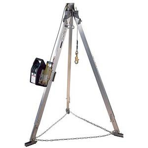 DBI/SALA Portable Confined Space Entry System Salalift II Winch; 7' Tripod