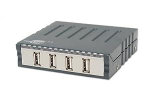 IO Crest SY-SER24023 4 Port Network USB 2.0 Hub