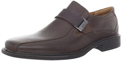 ECCO Men's New Jersey Buckle Oxford,Cocoa Brown,39 EU/5-5.5 M US