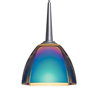 "Rainbow I LED One Light Pendant Canopy size: 2"" with Junction Box ..."