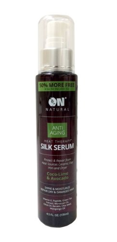 On Natural Anti Aging Heat Therapy Silk Serum 4.5oz / 135 ml - Coco-Lime & Avocado (Lime Green Hair Dryer compare prices)