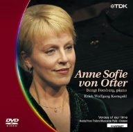 シャトレ座リサイタル1999 アンネ・ゾフィー・フォン・オッター コルンゴルトの音楽 [DVD]