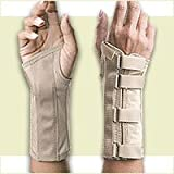 FLA Orthopedics SoftForm Light Support Elegant Wrist Brace Large - Right