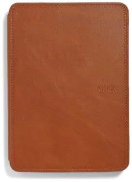 Funda de cuero Amazon para Kindle Touch, color marrón claro (sólo sirve para el Kindle Touch)