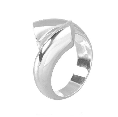 VINANI Damen Ring Passing Lines Sterling Silber 925 RPL Gr: 62/20