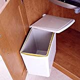Under sink waste bin, 16 litre, whiteby Fitmykitchen