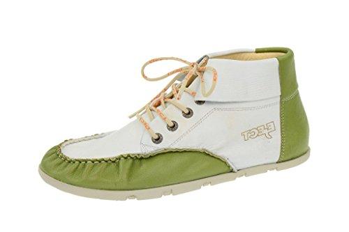 EjectEject Flying Schuhe - weiß grün - F/S 2014 - Sneaker Donna , Bianco (bianco), 42