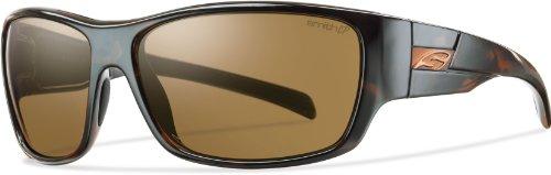 Smith Optics Frontman Premium Lifestyle Polarized Sports Sunglasses - Tortoise/Chromapop Brown / Size 61-15-125