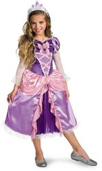 Disney Tangled - Girl's Costume: Rapunzel Tangled Deluxe- Medium