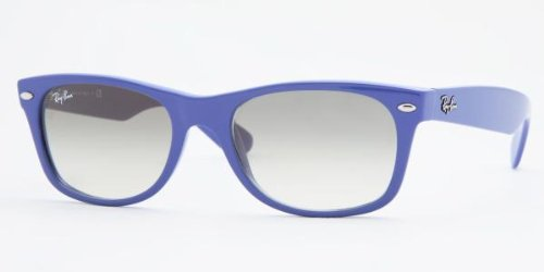 Ray Ban New Wayfarer Sunglasses – Violet w/ Grey Gradient Lens 52mm