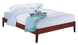 Modus Furniture Newport Full Simple Platform Bed Cordovan