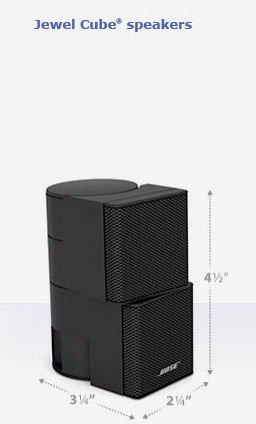 Bose Premium Jewel Cube Speaker