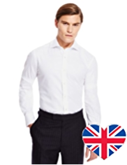 Best of British Luxury Pure Cotton Twill Oxford Shirt