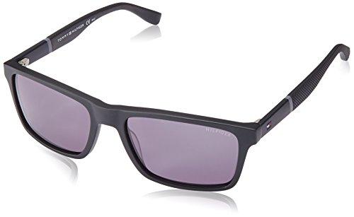 Tommy Hilfiger Thilfiger 1405/S 0KUN Black Matte Black P9 gray lens Sunglasses