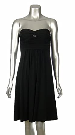 Black Dress on By Design Strapless Ruched Dress Black 10   Project Independently