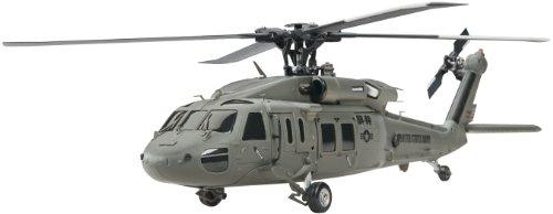 Heli-Max Black Hawk 4 Blade Rtf Heli, 1/43 Scale